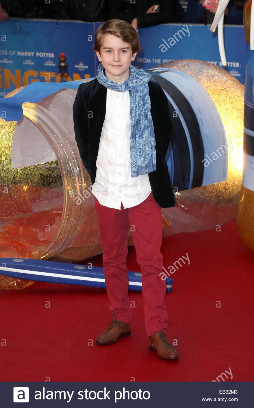 Samuel Joslin Arriving For The Paddington Film Premiere, At Odeon