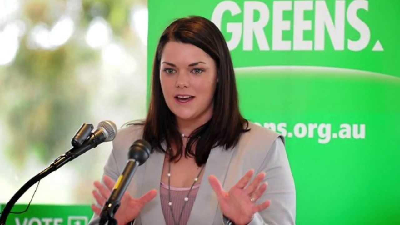 Sarah Hanson-Young (Australia's Dumbest Politician) - YouTube