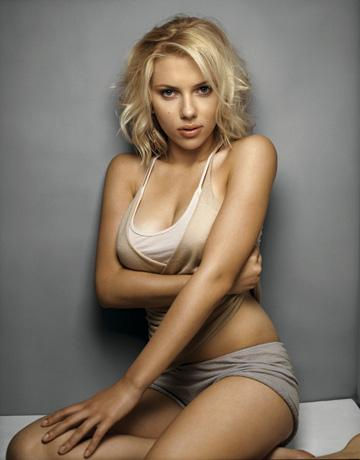 Scarlett Johansson Is The Sexiest Woman Alive - Scarlett Johansson