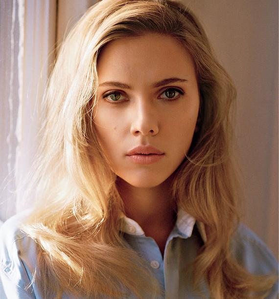 Scarlett Johansson Opens Up - WSJ
