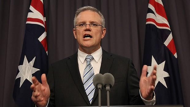 Scott Morrison Prepared To Declare The Economy An On Water Matter