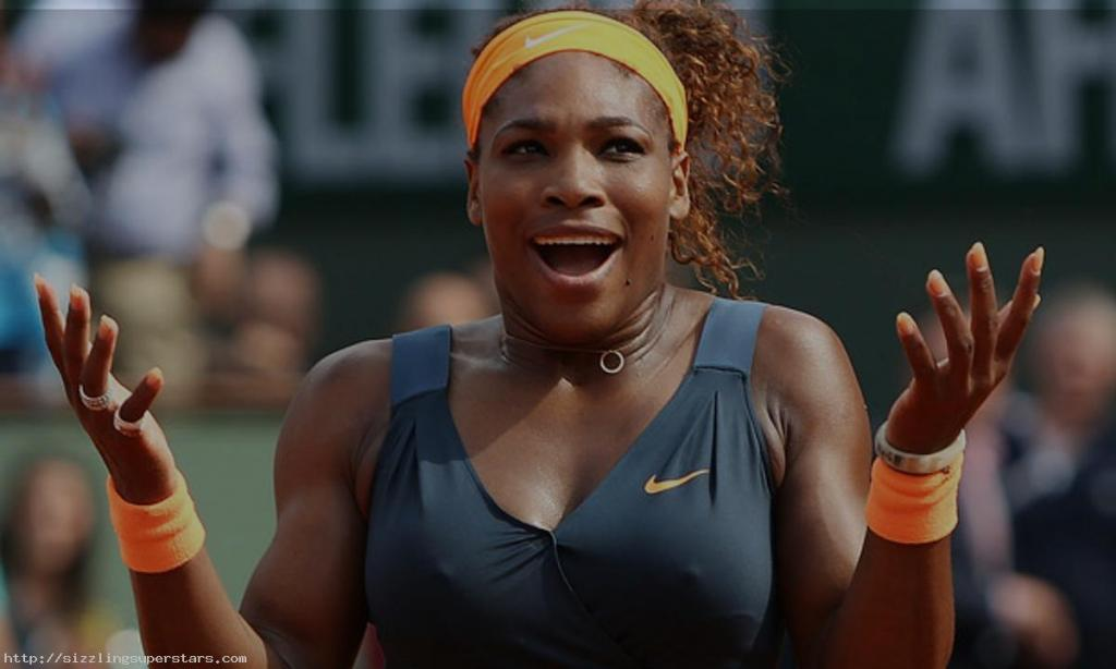 Serena Williams Famous Tennis Player   Sizzling Superstars