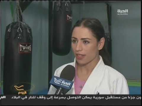 SHADIA BSEISO AL HURRAH TV INTERVIEW - YouTube
