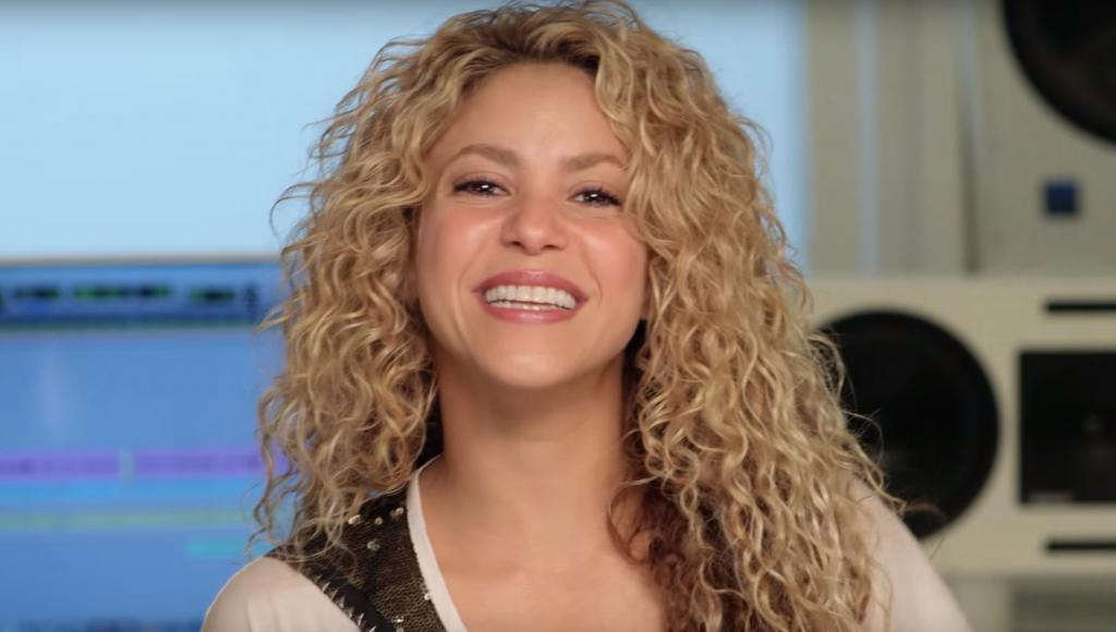 Shakira Is Back In The Studio Making Music!   Shakira : Just Jared