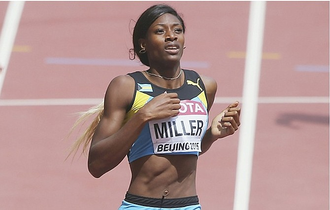 Shaunae Miller Advances To Semi-finals Of 400m   The Tribune