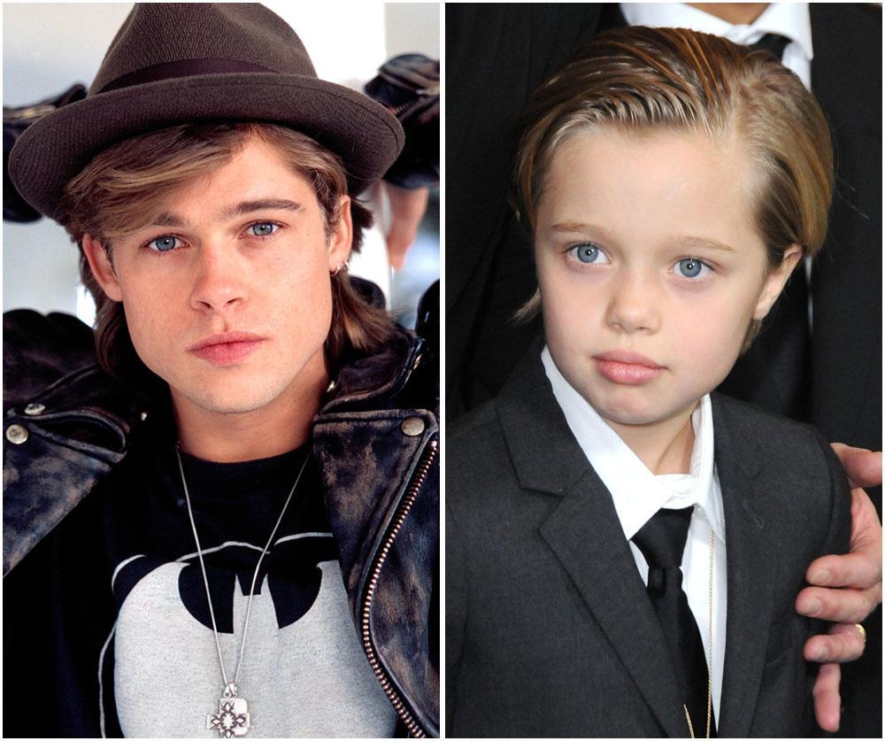 Shiloh Jolie-Pitt Is Brad Pitt's Mini-Me     See 10 Photos That Prove