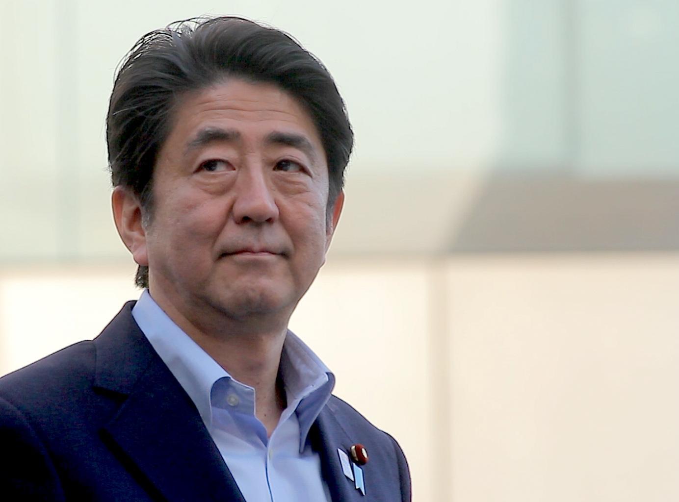 Shinzo Abe Ponders Political Oblivion   SNA Japan