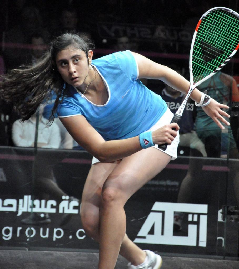 Squash Mad   Getting To Know The Real Nour El Sherbini