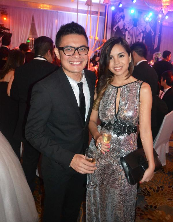 Star Magic Ball Glamour     Engaged Couple Paolo Valenciano