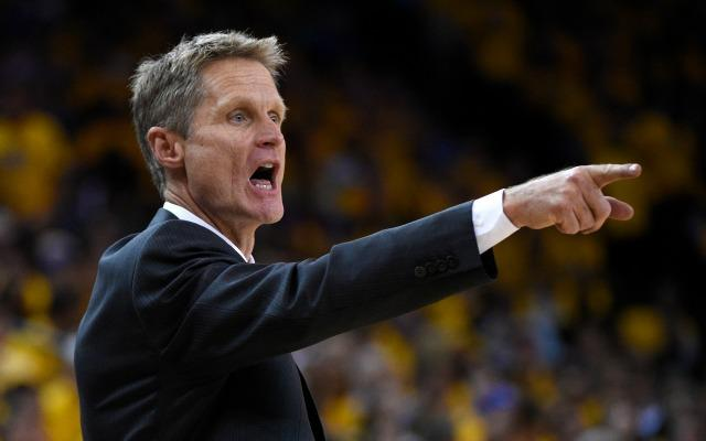 Steve Kerr Runs Warriors' Practice; Still No Timetable For Coach's