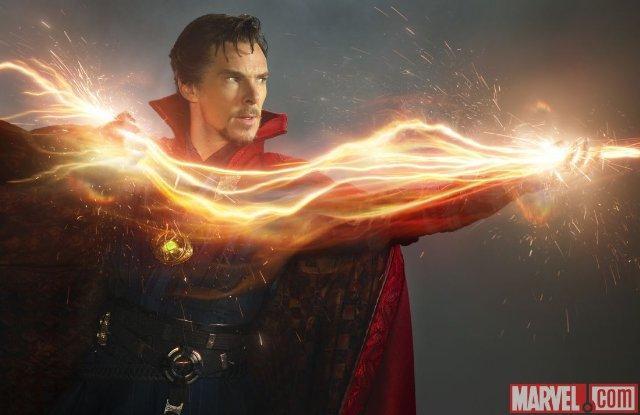 Still of Benedict Cumberbatch in Doctor Strange (2016)