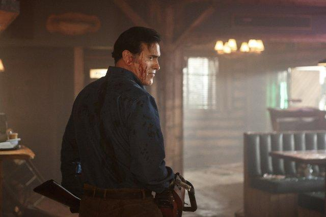 Still of Bruce Campbell in Ash vs Evil Dead (2015)