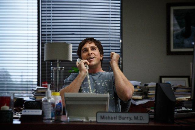 Still of Christian Bale in The Big Short (2015)
