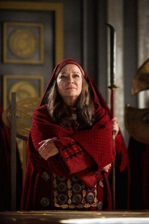 Still of Clare Higgins in Doctor Who (2005)
