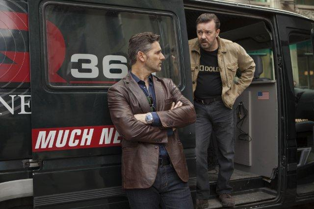 Still of Eric Bana and Ricky Gervais in Special Corresponden