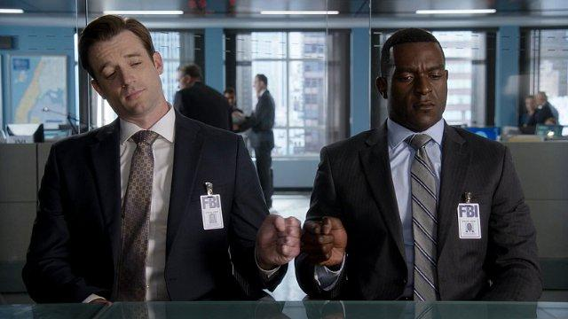 Still of Tom Degnan and Michael James Shaw in Limitless (201