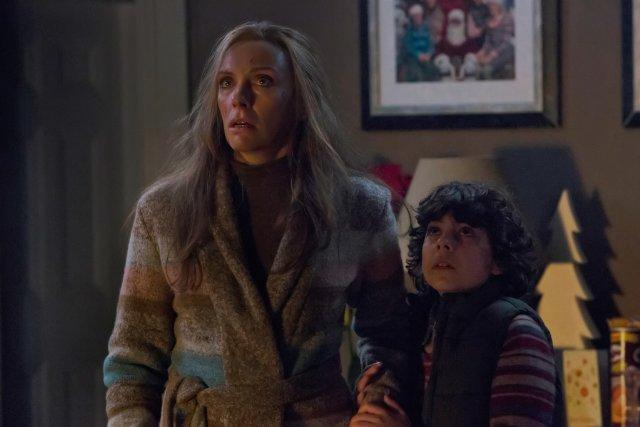 Still of Toni Collette and Emjay Anthony in Krampus (2015)