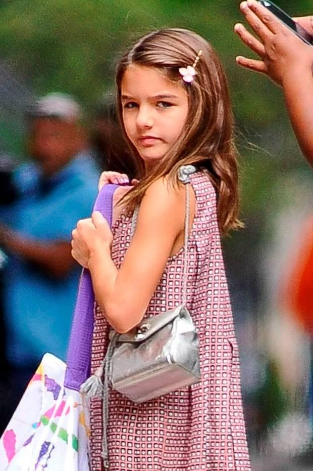 Suri Cruise Pictured After Playdate, Looks Identical To Mother Katie