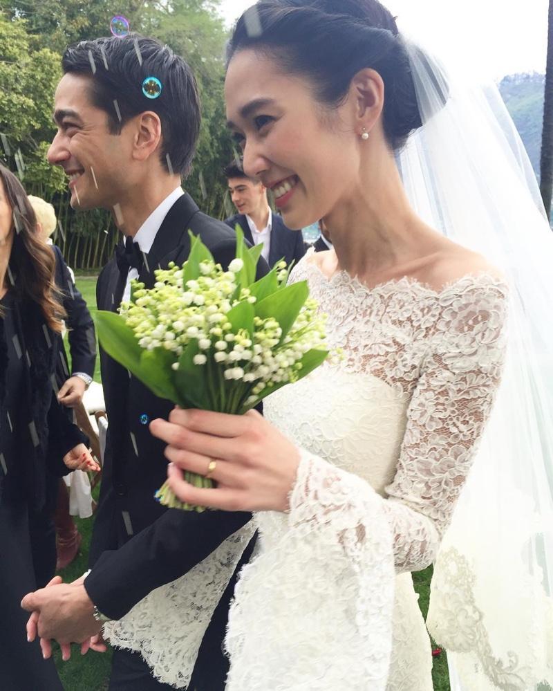 Tao Okamoto Wedding Dress Pictures
