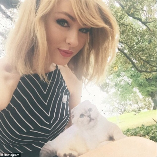 Taylor Swift Lookalike Olivia Sturgiss Won't Commit To A Paid