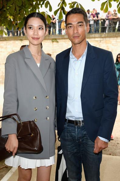Tenzin Wild Pictures Viktor & Rolf : Arrivals - Paris Fashion Week