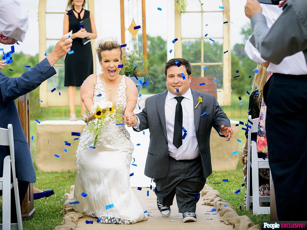 Terra's Little Family: Terra Jole And Joe Gnoffo's Wedding Photos