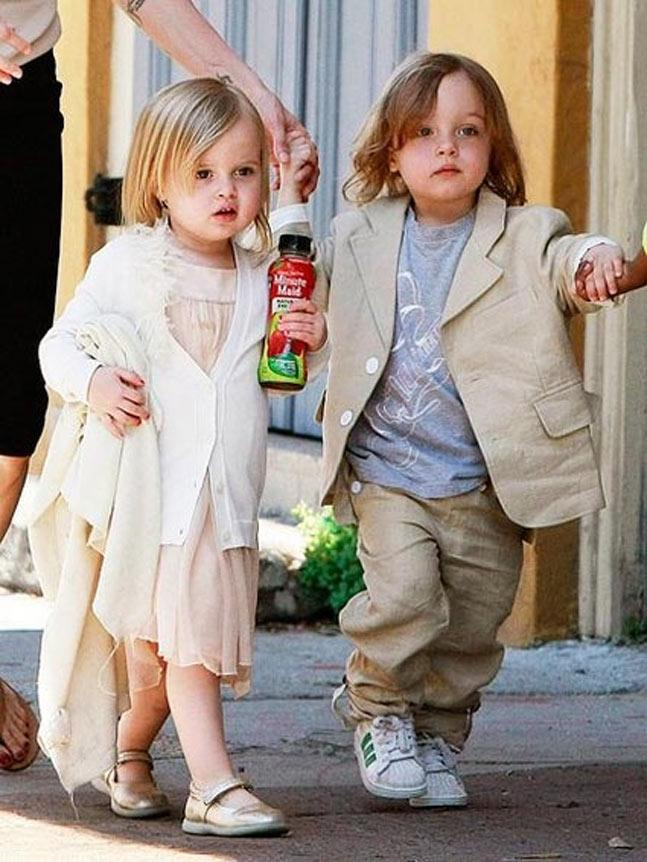 The Big Fat Jolie-Pitt Family: Angelina And Brad's Journey From
