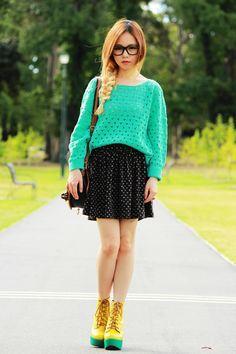 The Orange Coat   Chloe's Addiction By Chloe Ting   Fashion