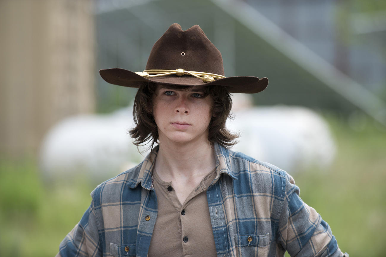 "The Walking Dead's Chandler Riggs: ""Carl Is Going To See The World A"