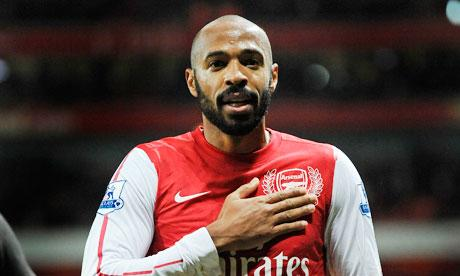 Thierry Henry Back With Arsenal - CLICKON Soccer