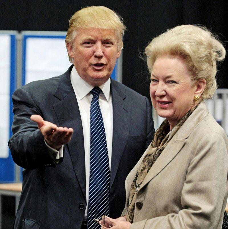 Trump's Sister, The Judge: A Life Vastly Different, But Often