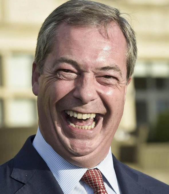 Ukip Leader Nigel Farage Named Briton Of The Year 2014 By The Times
