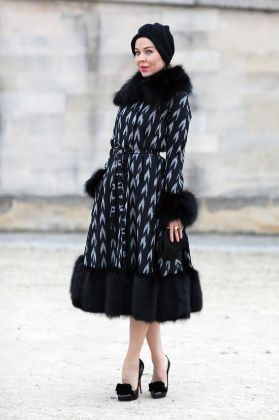 Ulyana Sergeenko In Paris   Street Fashion   Street Peeper   Global