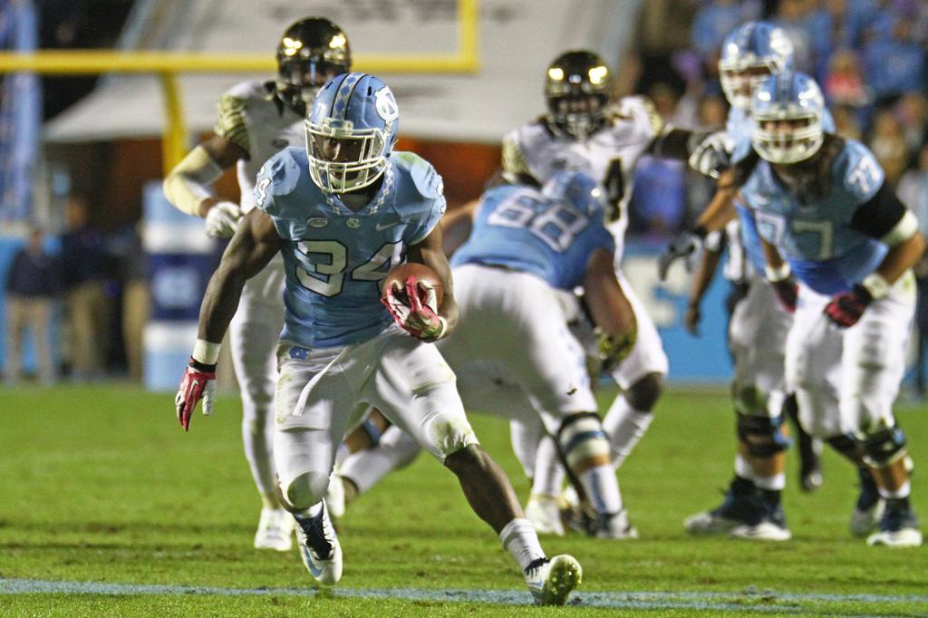 UNC Football's Elijah Hood Knows His Chances Will Come :: The Daily
