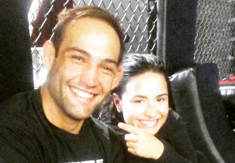 UPDATE: Demi Lovato Not Dating Hot MMA Fighter     REPORT