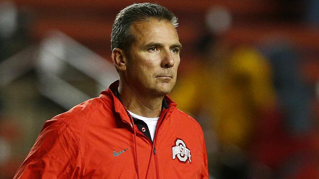 Urban Meyer Eats Slap From Ref, Gets Flagged   NCAA Football