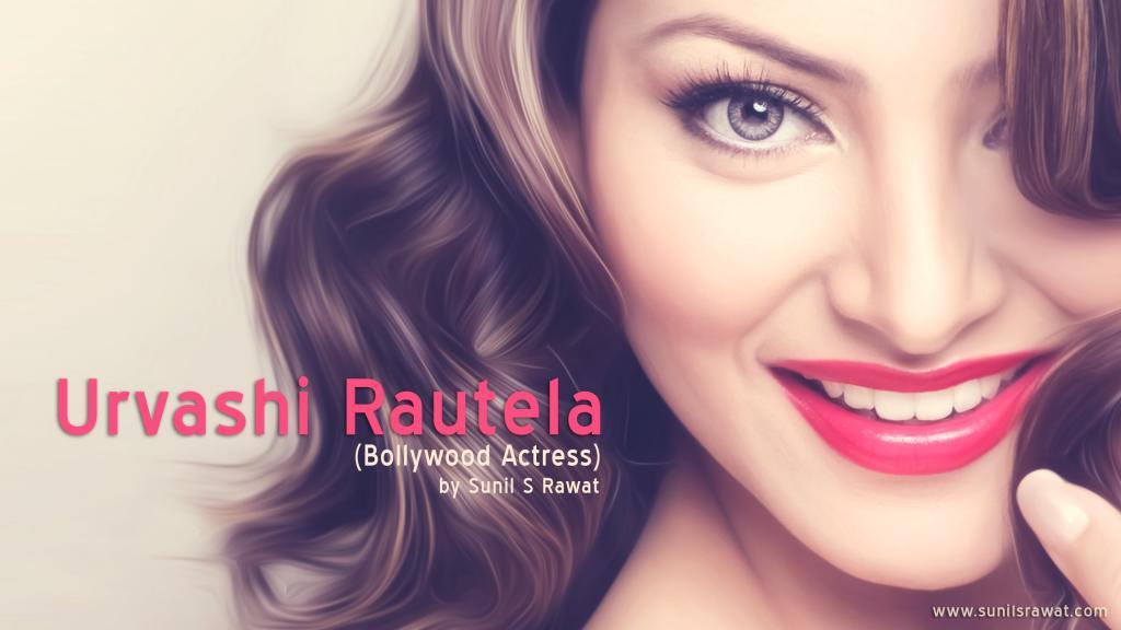 Urvashi Rautela (Bollywood Actress) By Sunil S Rawat - YouTube