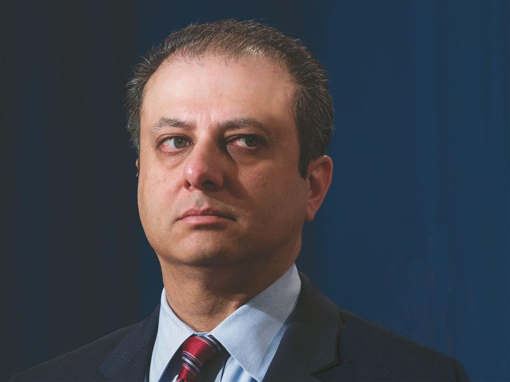 U.S. Attorney Preet Bharara Vs. Albany   Crain's New York Business