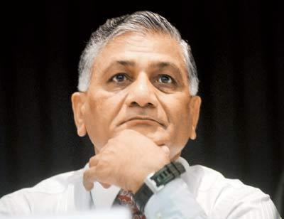 V K Singh's Remark On J&K Ministers' Payoffs Triggers Political