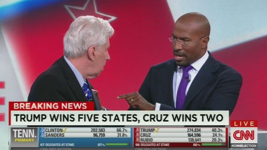 Van Jones And Jeffrey Lord Nearly End Up In A Fist Fight Over