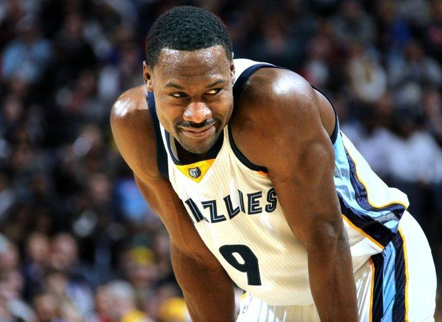 Video: Tony Allen Finishes With Sweet Spin Move, Stares Down Michael