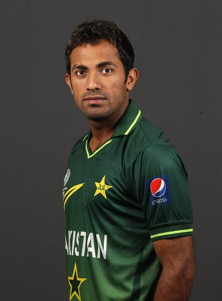 Wahab Riaz Photos Photos - 2011 ICC World Cup - Pakistan Portrait