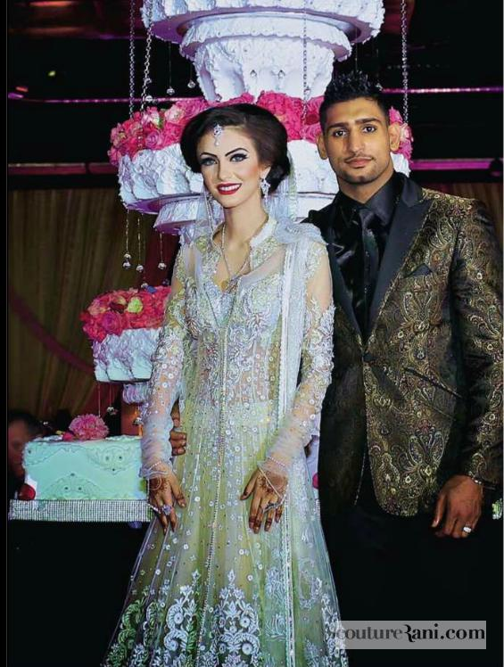 Wedding Wednesday: Amir Khan And Faryal Makhdoom   Couture Rani