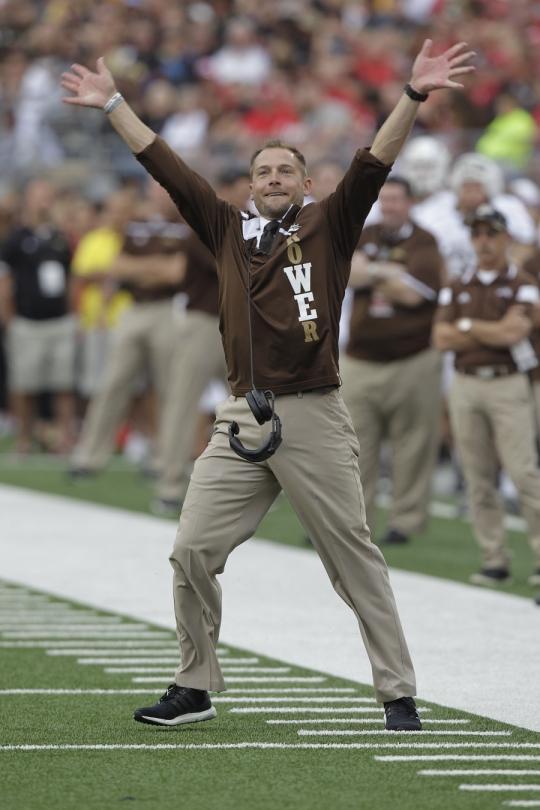 Western Michigan Coach Definitely Is 'something Else' - Sports