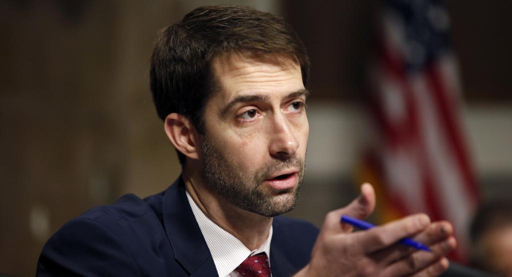 White House Torches Sen. Tom Cotton On Iran - POLITICO