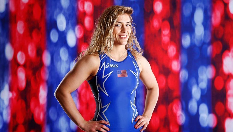 Who Is Helen Maroulis   NBC Olympics