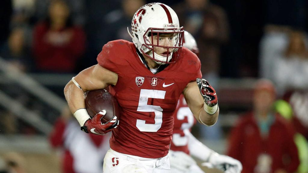 Why Are Snakes Chasing Stanford's Christian McCaffrey? - FootballScoop
