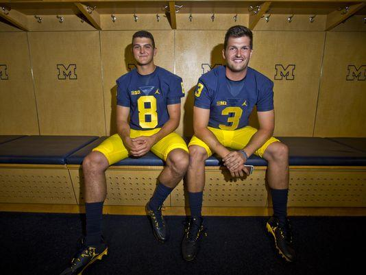 Wilton Speight, John O'Korn Still Battling For Michigan QB Job