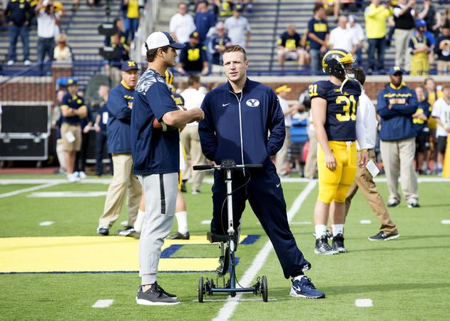 Wright Words: BYU QB Taysom Hill Talks About His Mission, Trials And