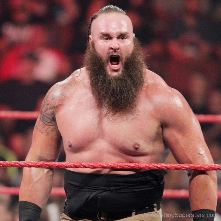 WWE Braun Strowman Looking Angry